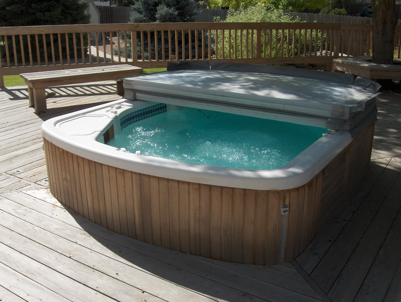 Removing a Hot Tub from a Deck | Lee Devlin\'s Website