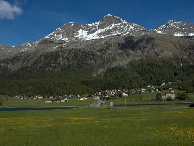 Near St. Moritz