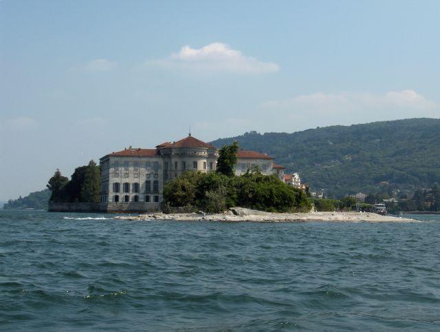 Palace at Isola Bella, Lake Maggiore, Italy
