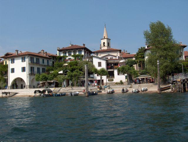 Isola dei Pescatori, Lake Maggiore, Italy