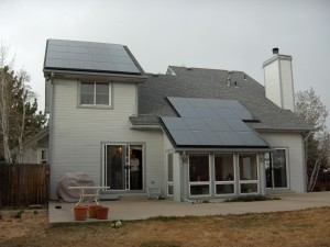 A 5.6 kW Solar Array Generates all our electricity