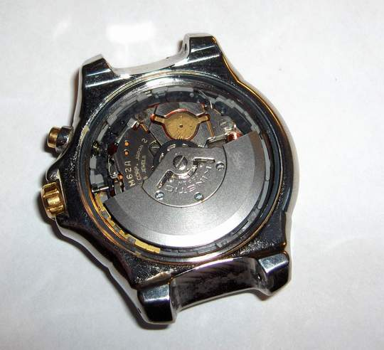 inside view of Seiko Model 5M62