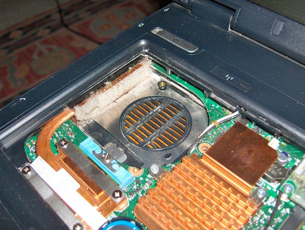 HP nx61110 heatsink