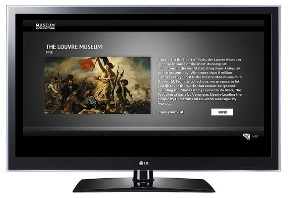image of an LG Smart TV