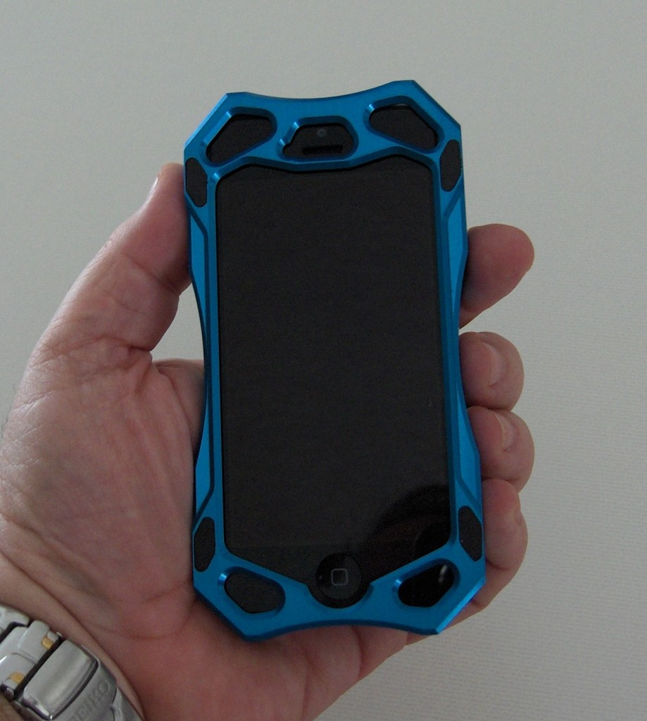 The CaseStudies case fits the hand nicely and feels solid.