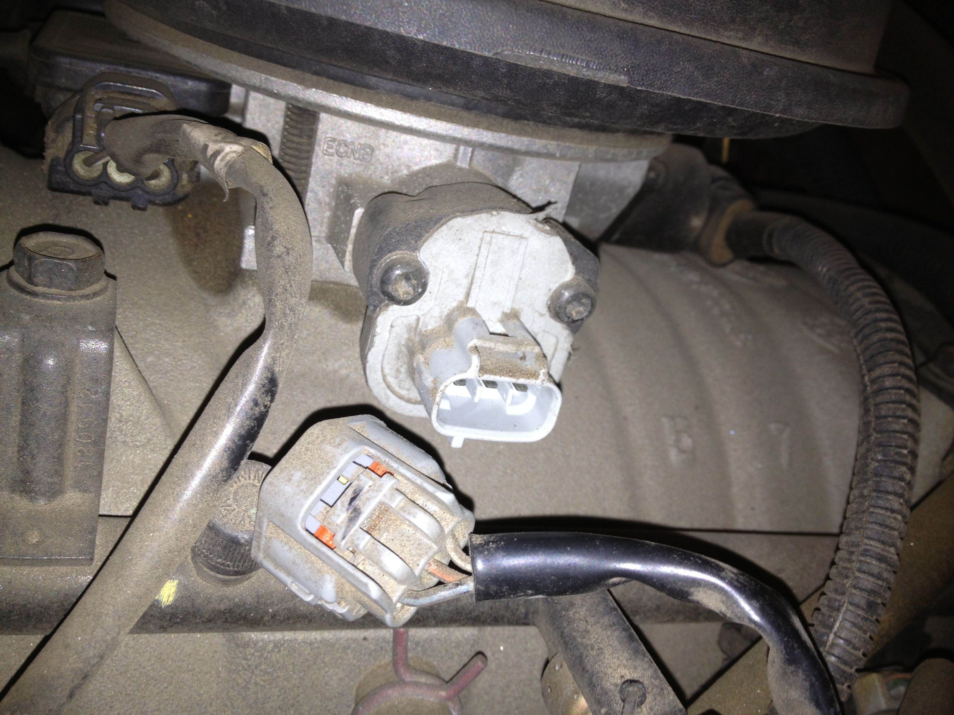 Fixing Dodge Durango Transmission Problems By Replacing Sensors 2007 Fuel Filter The Sensor Is Easy To Access On Side Of Throttle Body
